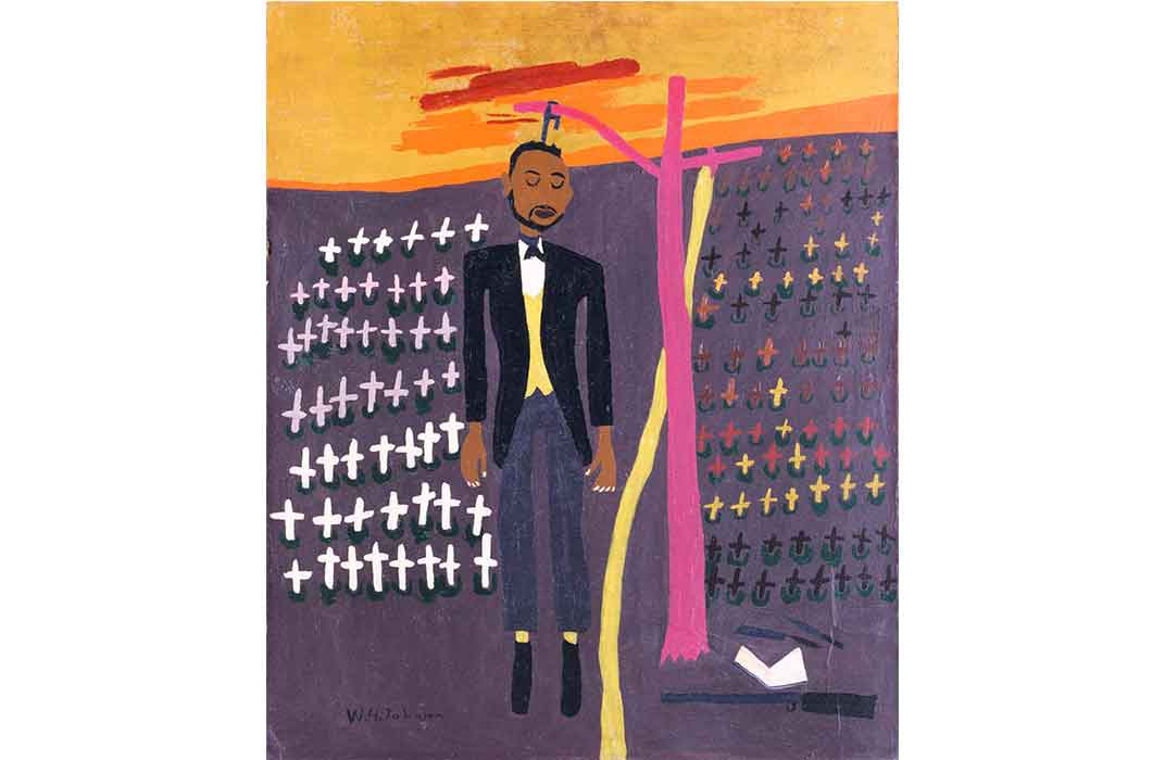Nat Turner by William H. Johnson