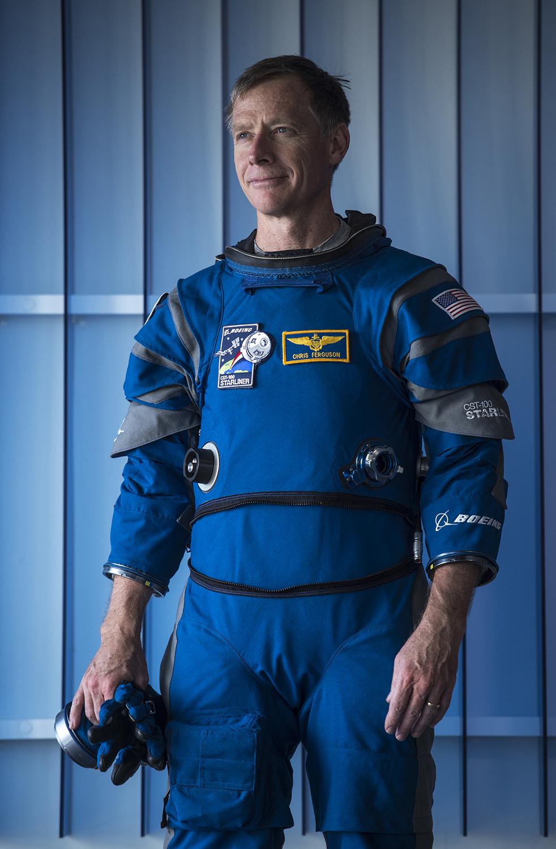 Former NASA astronaut Chris Ferguson