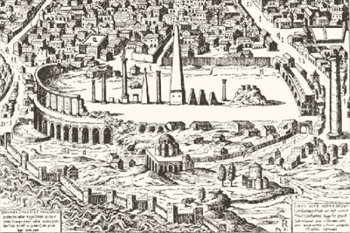 The ruins of Constantinople's Hippodrome