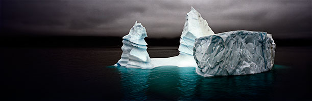 Grand Pinnacle Iceberg, East Greenland, from the Last Iceberg, 2006, by Camille Seaman
