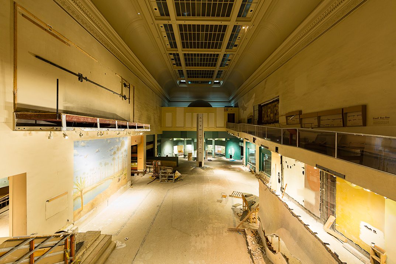 Empty Dino Hall