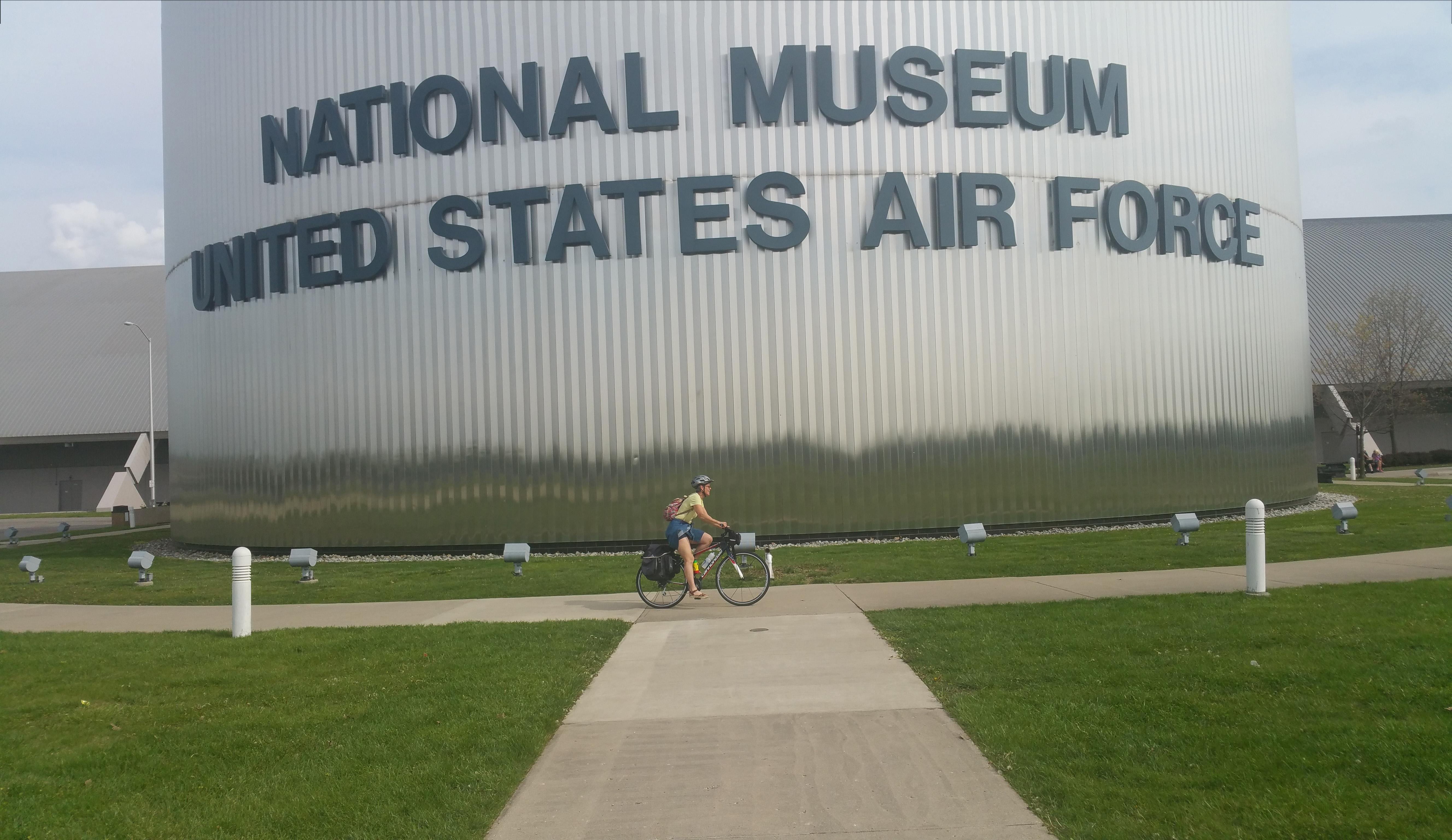 The USAF museum and its vast collection is an easy ride from the Wright brothers' bike shop.