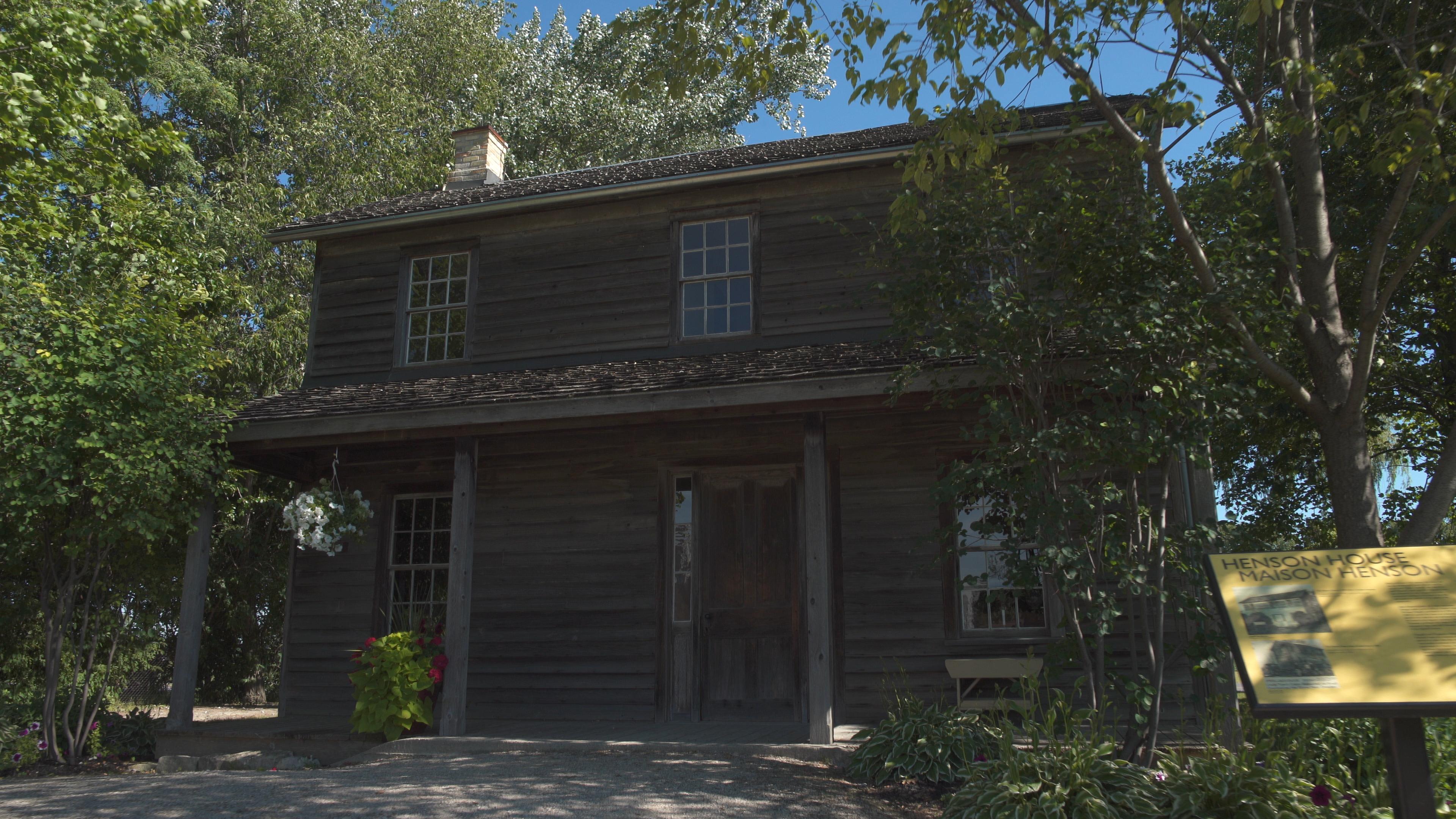 Josiah's cabin