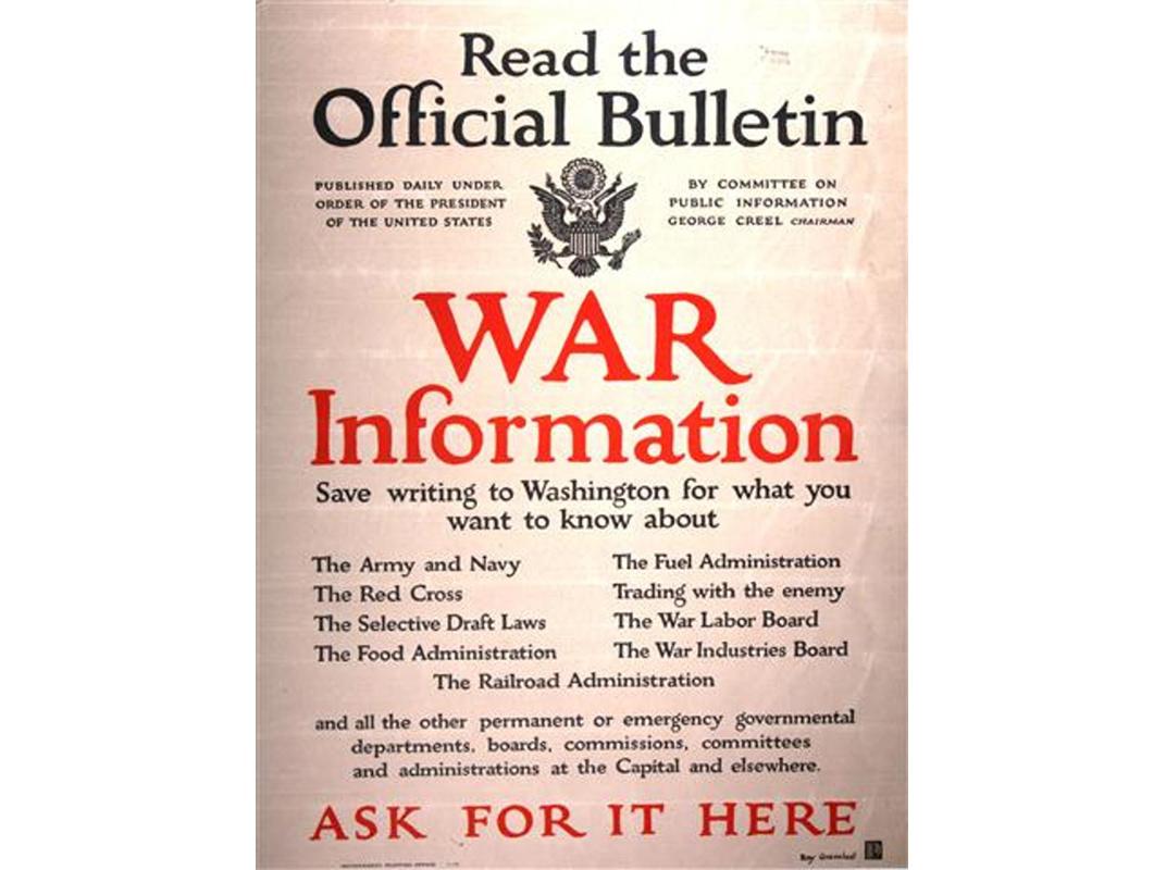 War info