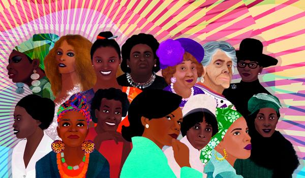 The women featured in Brave. Black. First. include, among others, Nina Simone, Zora Neale Hurston, Ann Lowe and Condoleezza Rice.