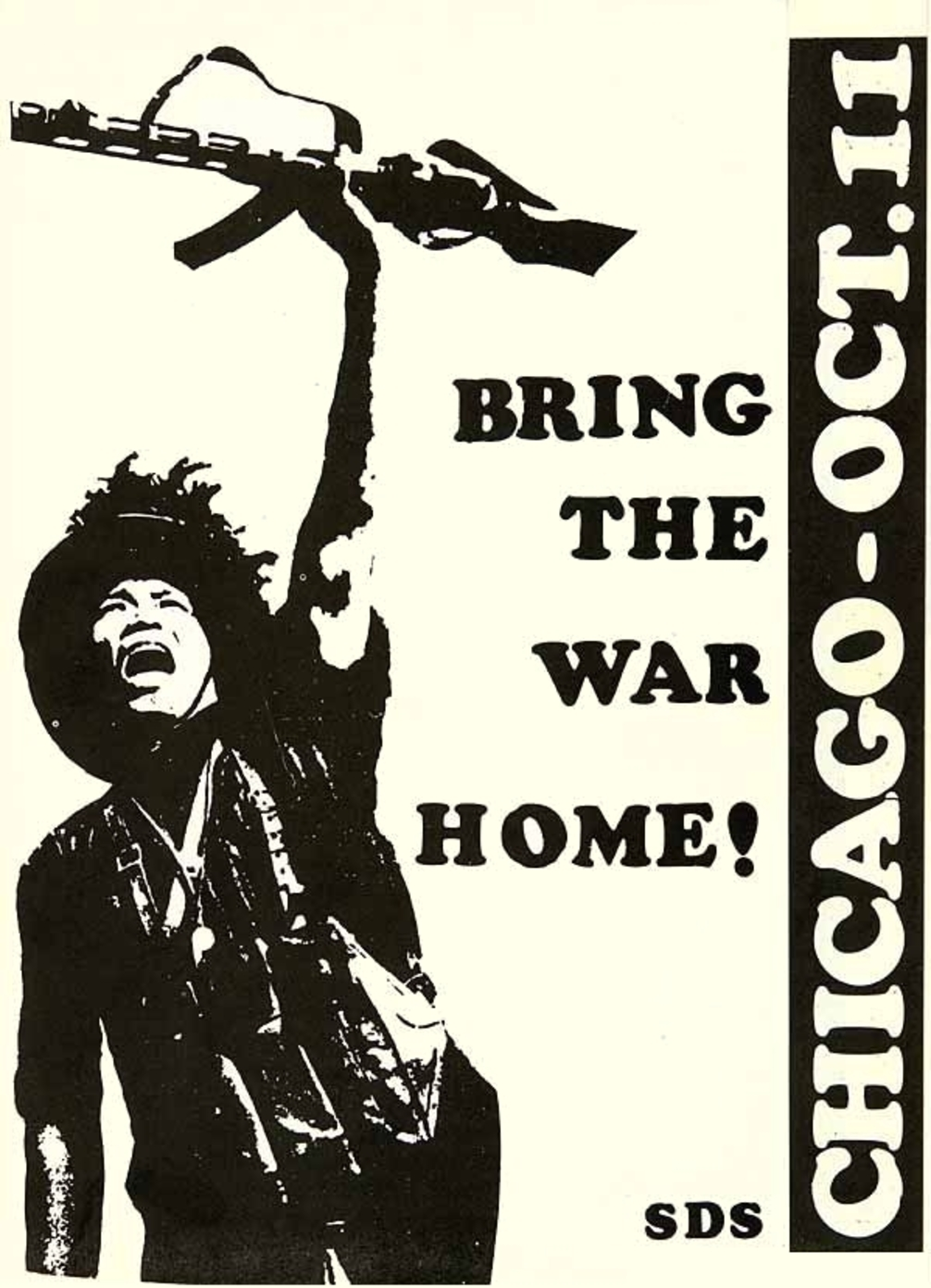 Poster from the 1969 Days of Rage demonstrations