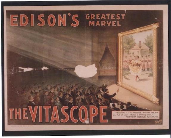 "advertisement for Edison's ""greatest marvel"""