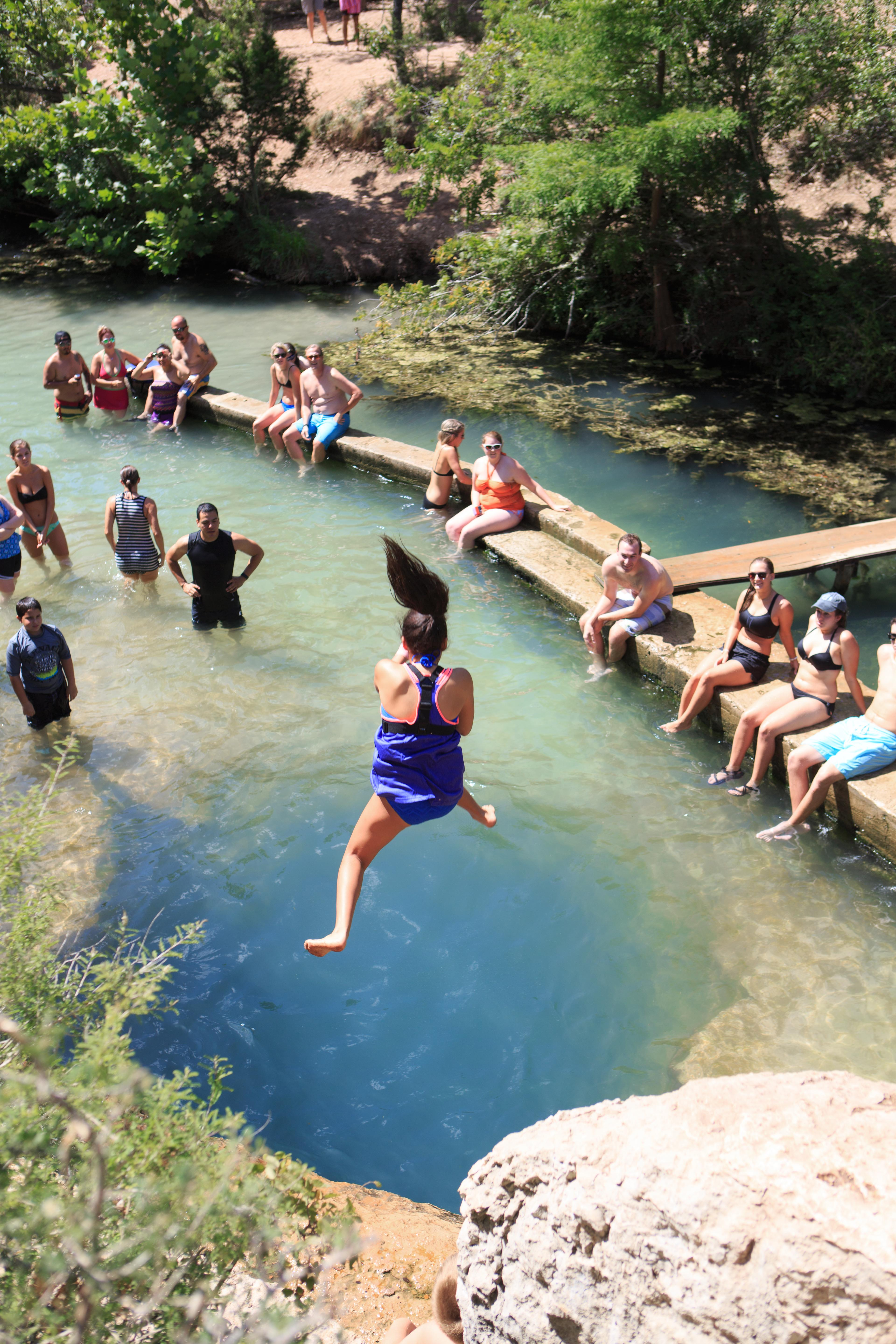 Jacob's Well Swimming Hole, Wimberly, Texas