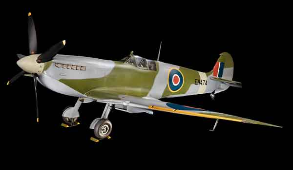 """""""The shape of the Spitfire's wing and all of the compound curves on the airplane made it beautiful,"""" says the Smithsonian's Alex Spencer, curator of British and European military aircraft at the National Air and Space Museum."""