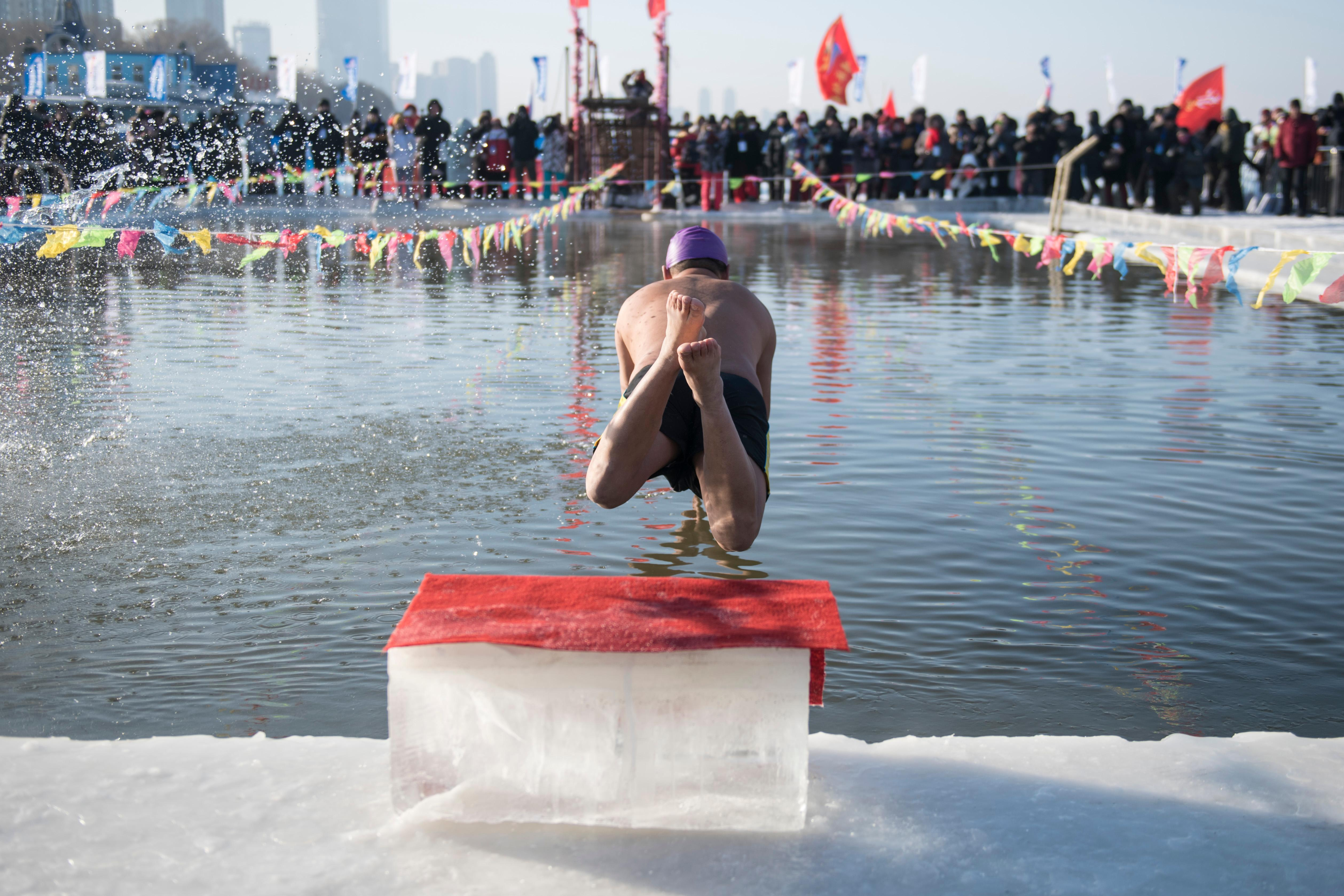 Harbin polar plunge