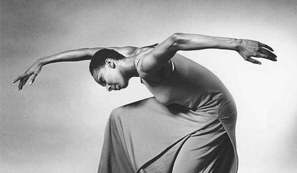 The Smithsonian's Jack Mitchell Photography of the Alvin Ailey American Dance Theater Collection (Above: Detail of Judith Jamison in