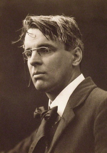 The Irish poet William Butler Yeats in 1911