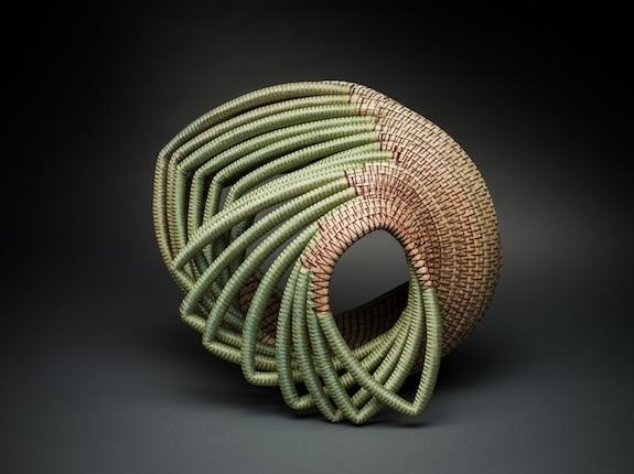 Debora Muhl designs her works in the process of making them.