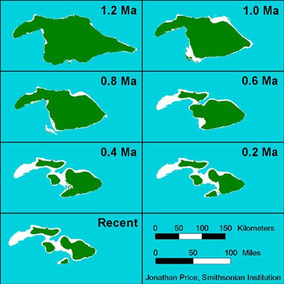 The last 1.2 million years have been hard on Hawaii.
