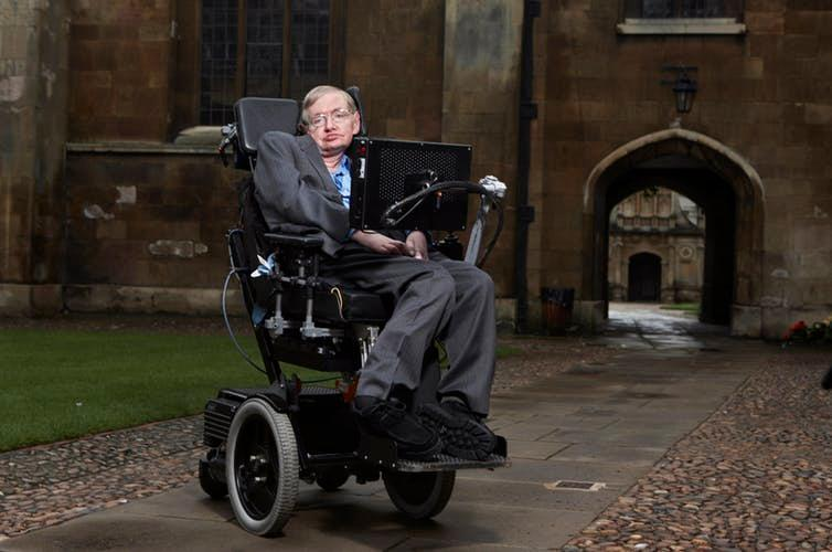 Hawking at the University of Cambridge