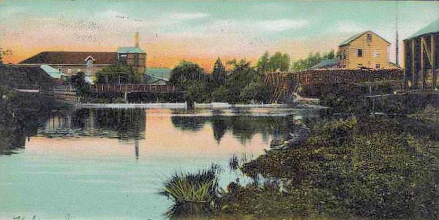 The Traiguén River in 1915