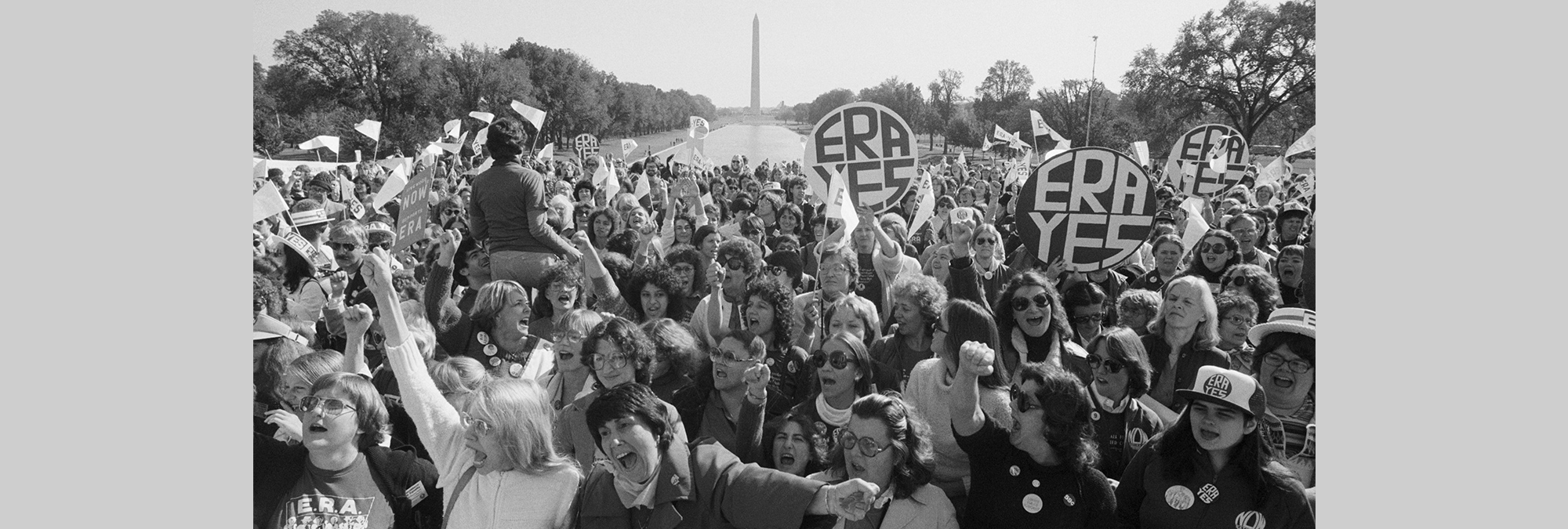 Almost 40 years ago, in 1981, women cheered during a rally for the passage of the Equal Rights Amendment. Today, Virginia, just across the Potomac River, could become the crucial 38th state to approve the constitutional change.