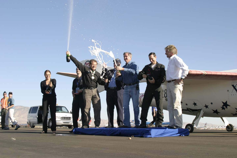 SpaceShipOne team