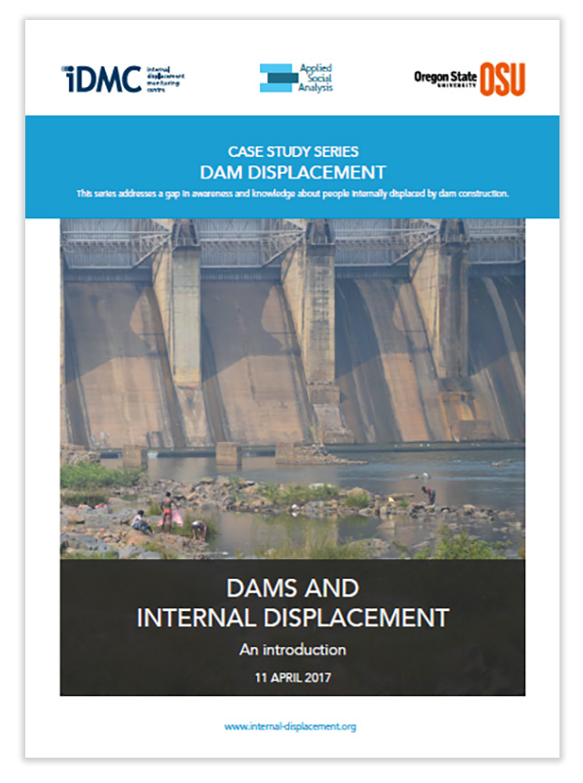 A 2017 report by the Internal Displacement Monitoring Center