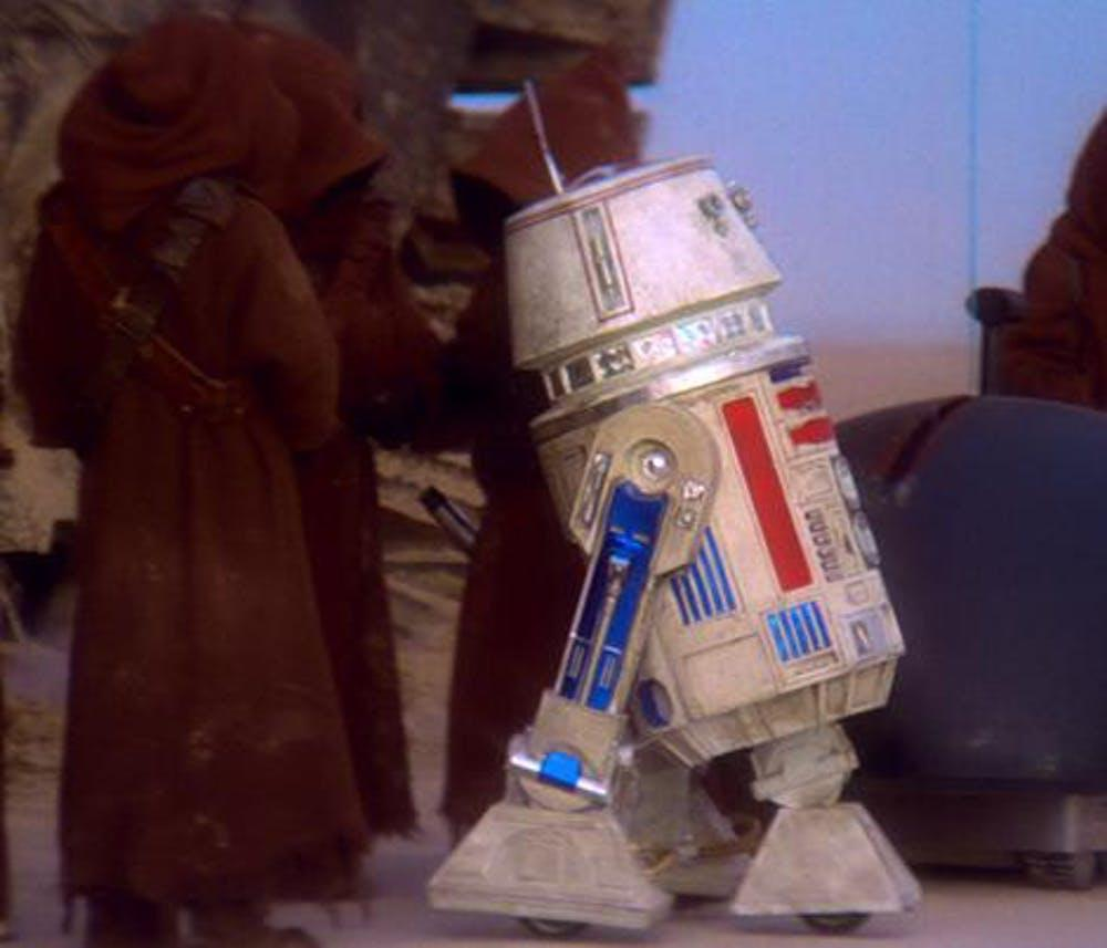 R5-D4, the malfunctioning droid of A New Hope