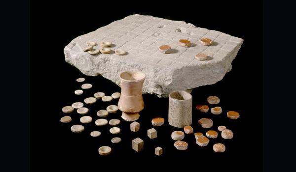 A Ludus Latrunculorum board found in Roman Britain