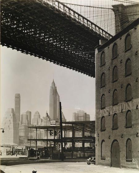 Bernice Abbott's Brooklyn Bridge