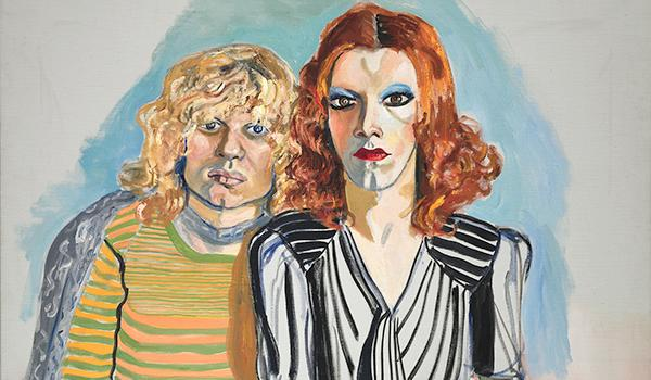 Alice Neel, Jackie Curtis and Ritta Redd, 1970