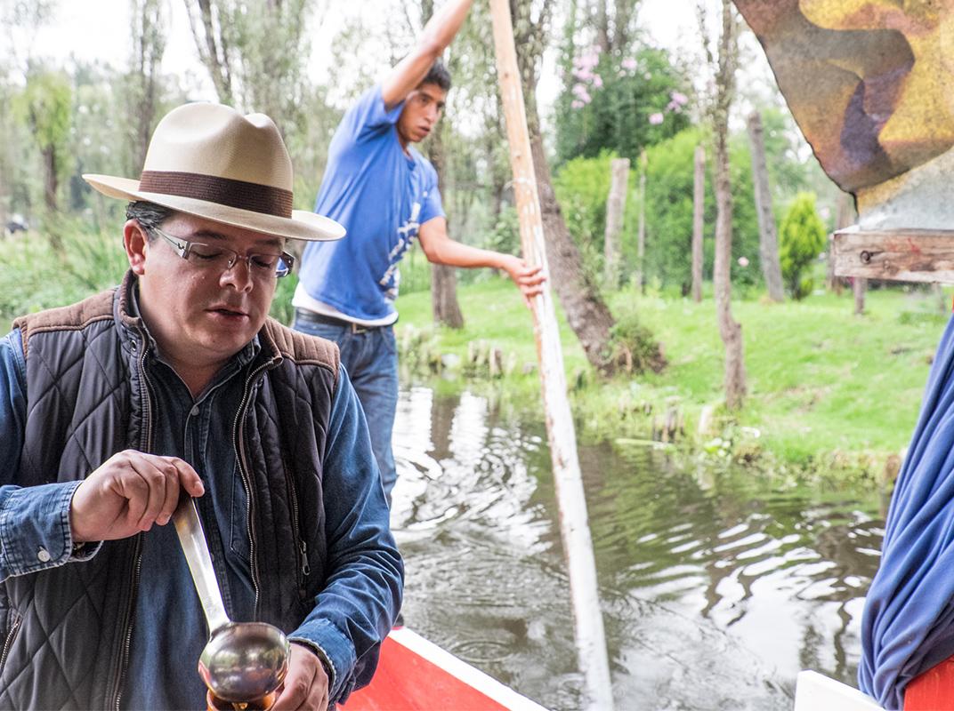 Ricardo Rodriguez, founder of the De La Chinampa a Tu Mesa program