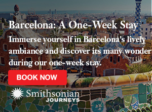 Travel to Barcelona with Smithsonian Journeys