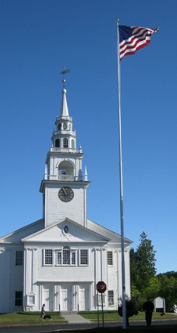 The First Congregational Church in Hancock, NH.