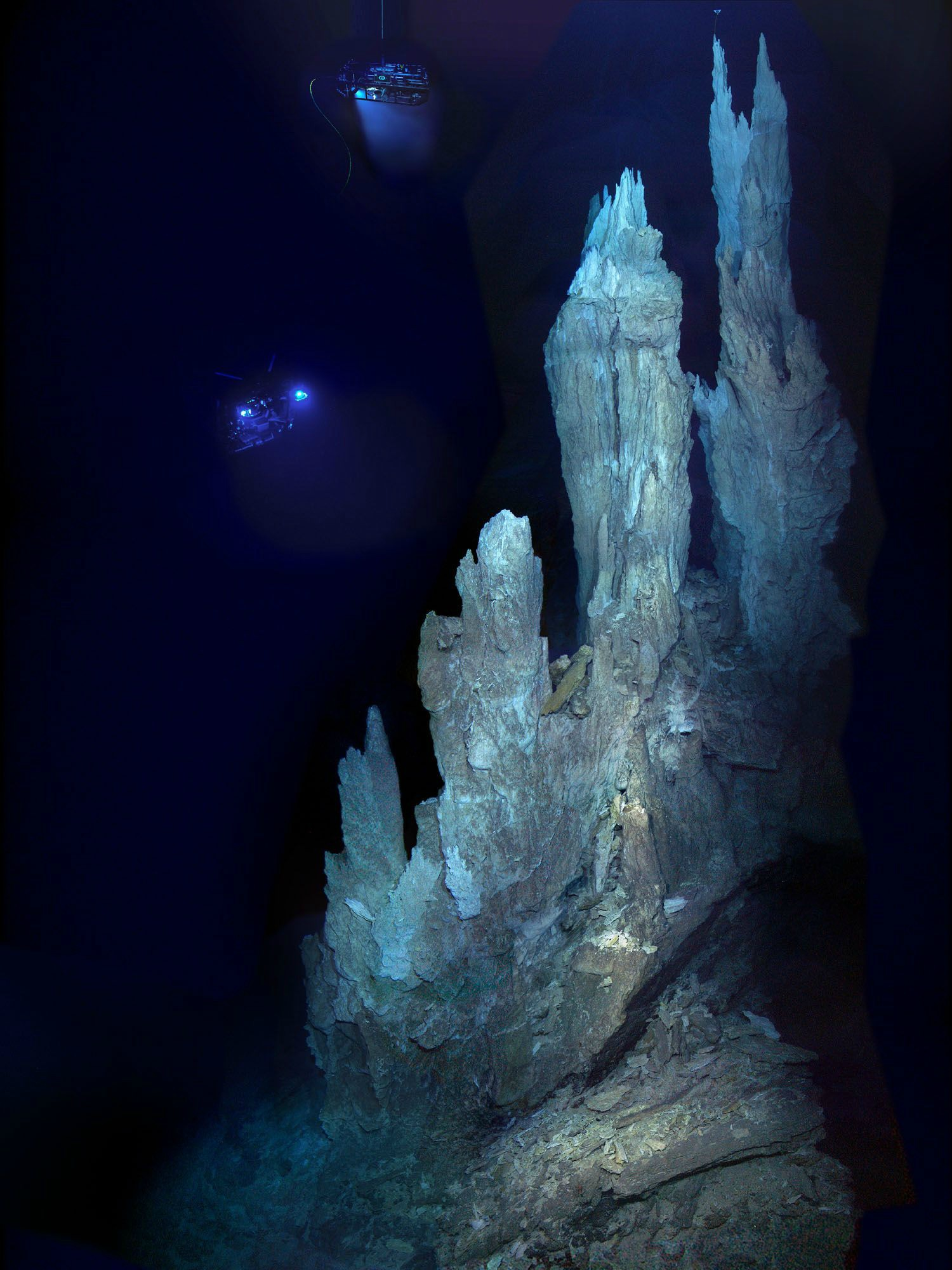 Lost City Carbonate Chimneys