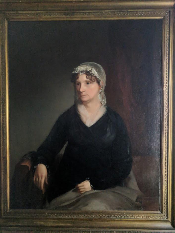 Julia Rush in later life