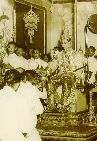 Coronation Day: on May 5, 1950, Bhumibol was formally the King of Thailand at the Grand Palace.