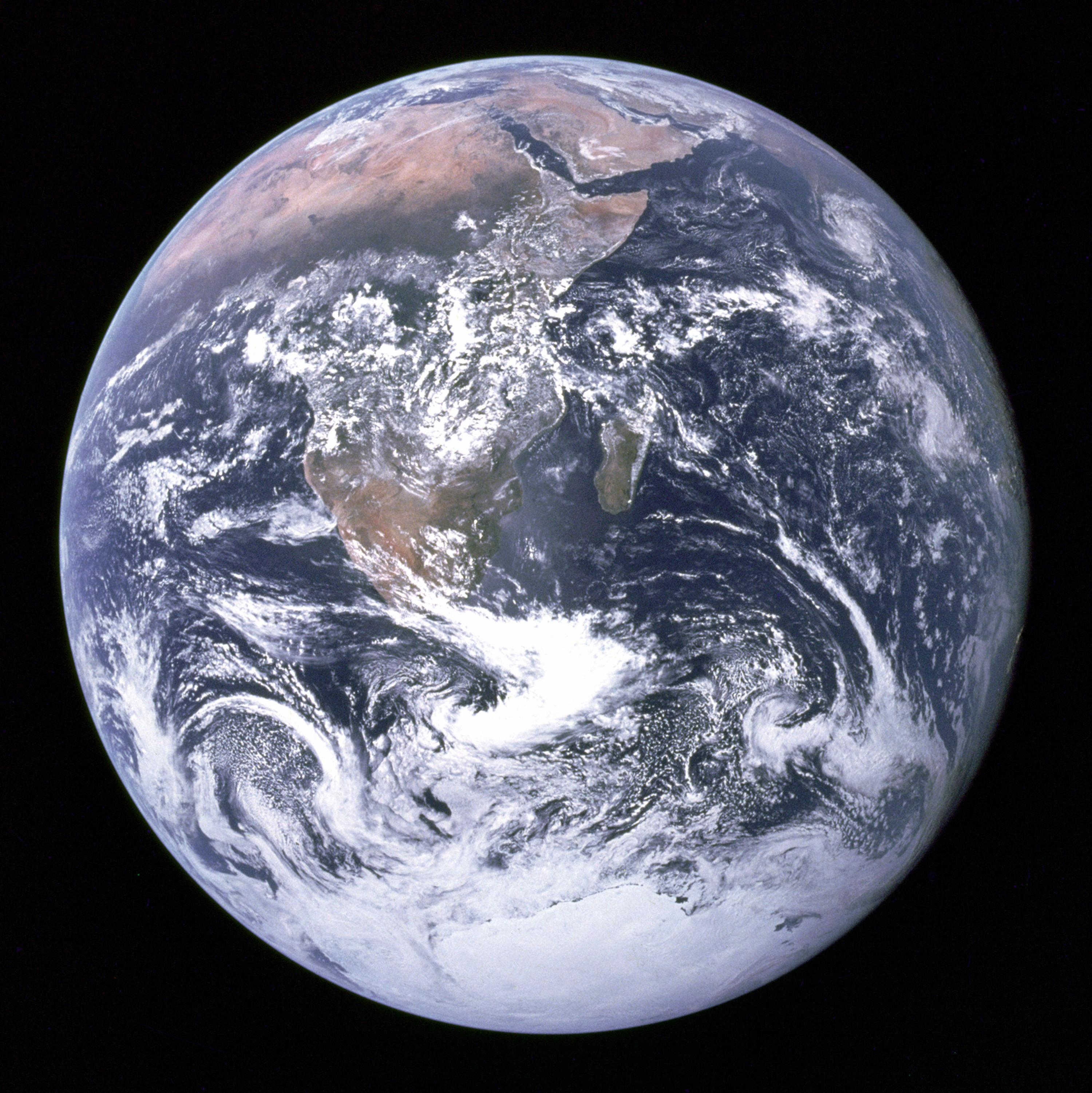 Of earth photo first