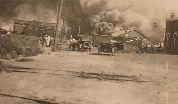 From May 31 through June 1, 1921, white mobs murdered scores of African Americans and ransacked, razed and burned homes, businesses and churches in Tulsa's Black community of Greenwood.