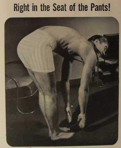 Munsingwear Midway Briefs, boxer briefs, 1940s