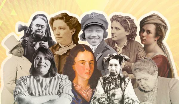 The list includes Artemisia Gentileschi, Wilma Mankiller, Bessie Coleman and other Oscar-worthy women.