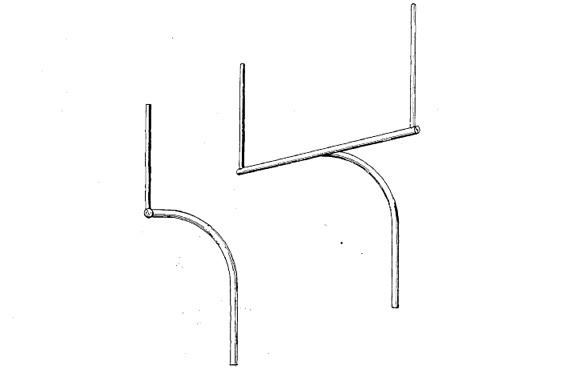"images from Joel Rottman's ""slingshot"" goal post patent"