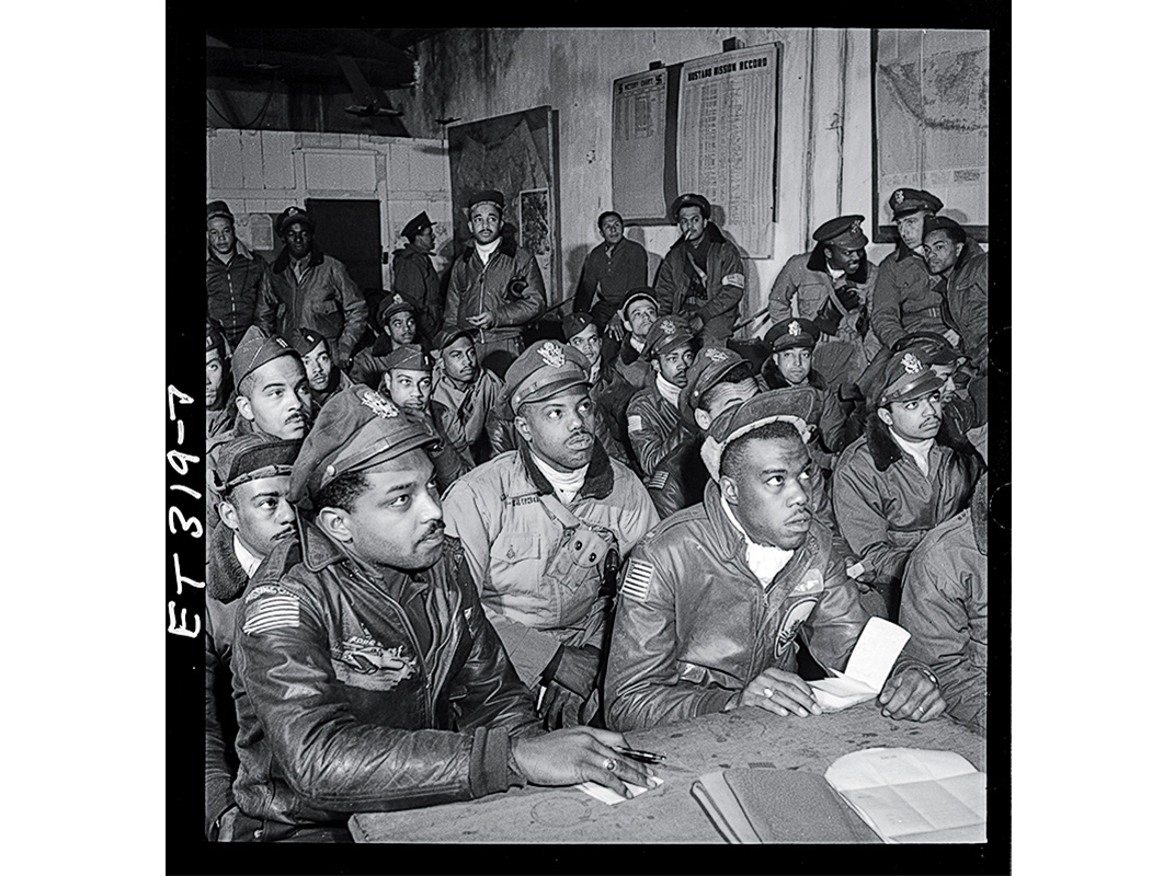 Tuskegee-trained pilots