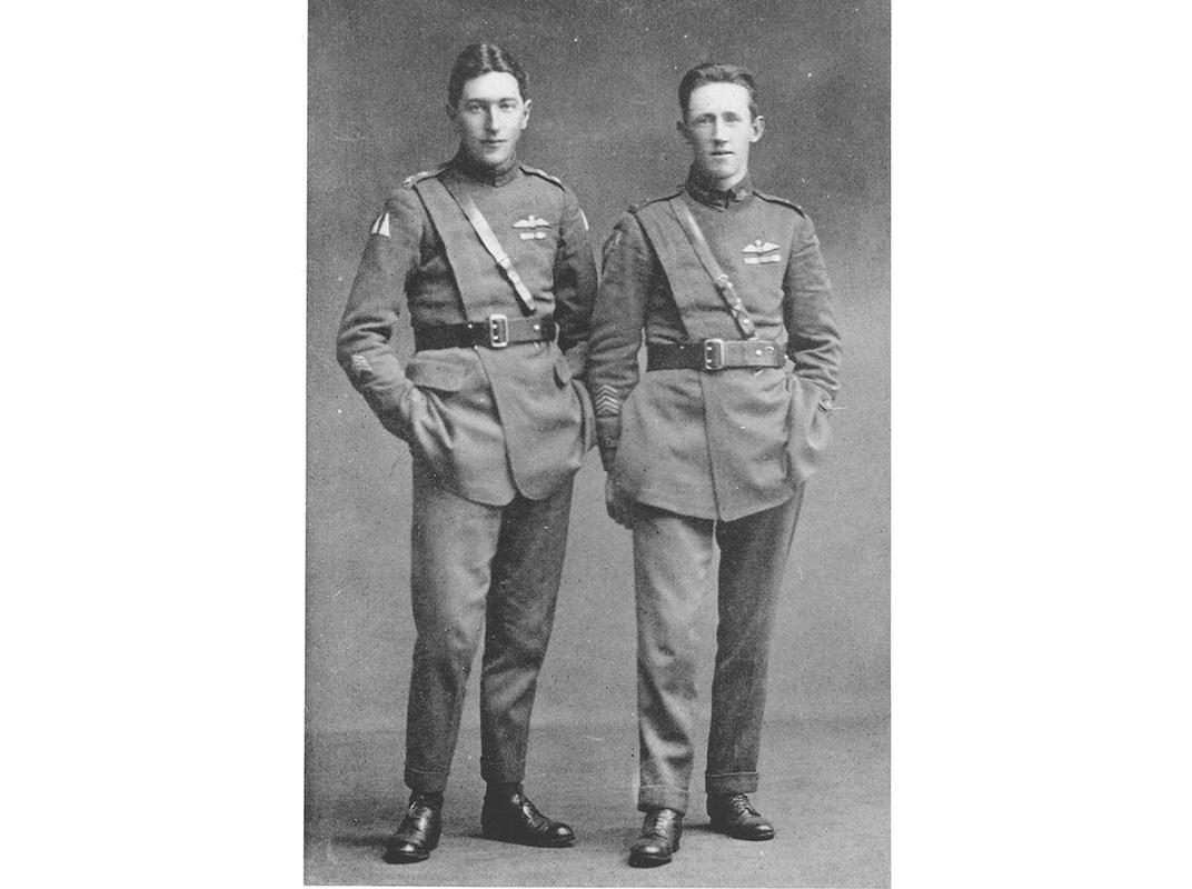 Hudson Fysh and Paul McGinness