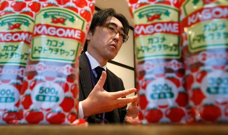 Fumitaka Ono is Japan's most popular ketchup brand.