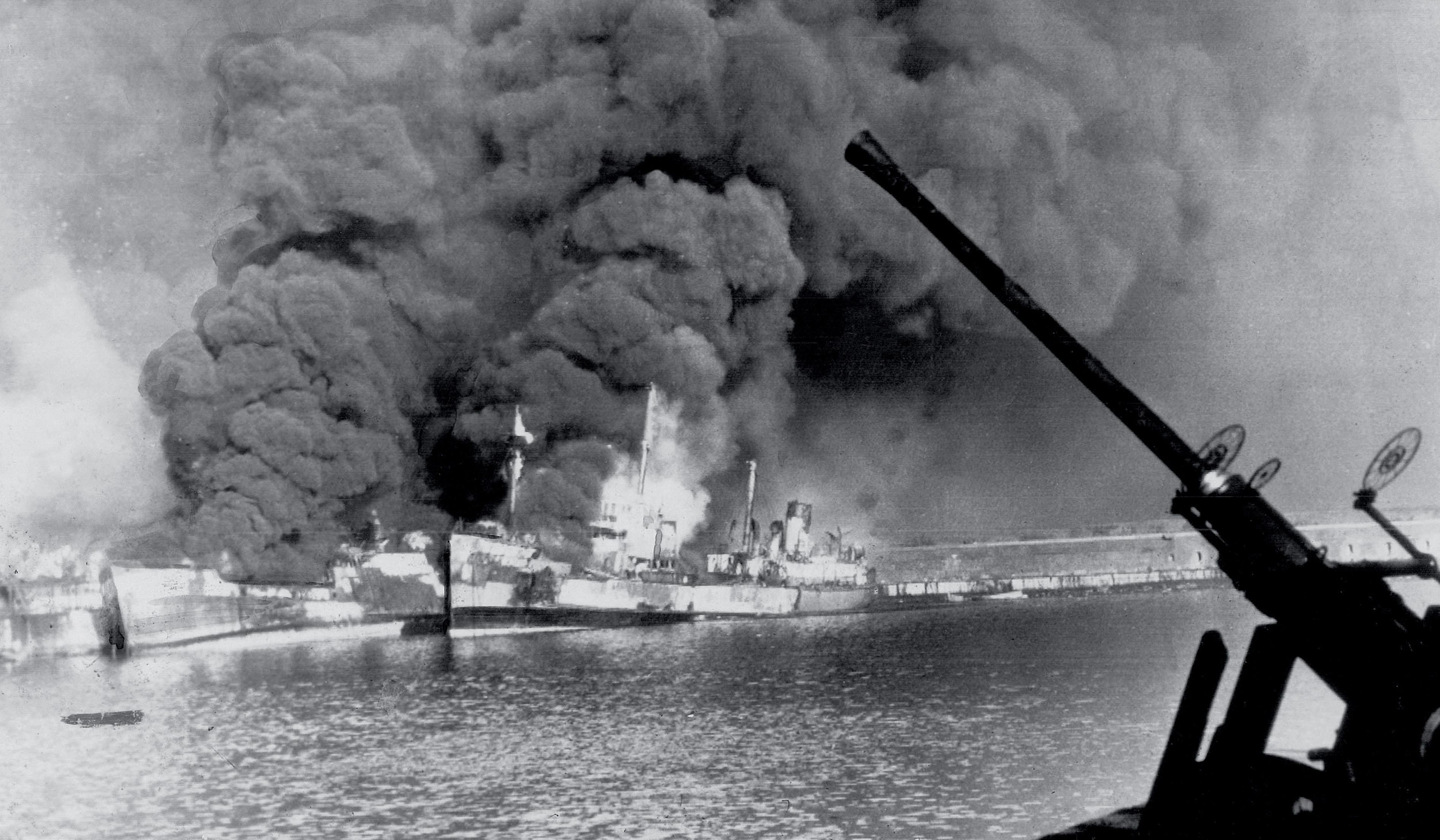 The December 1943 German military air raid on Bari destroyed 17 Allied ships, killed more than 1,000 servicemen and ignited a mysterious outbreak.