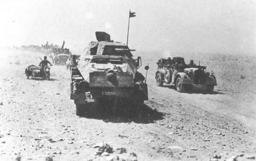 Panzer Division advance