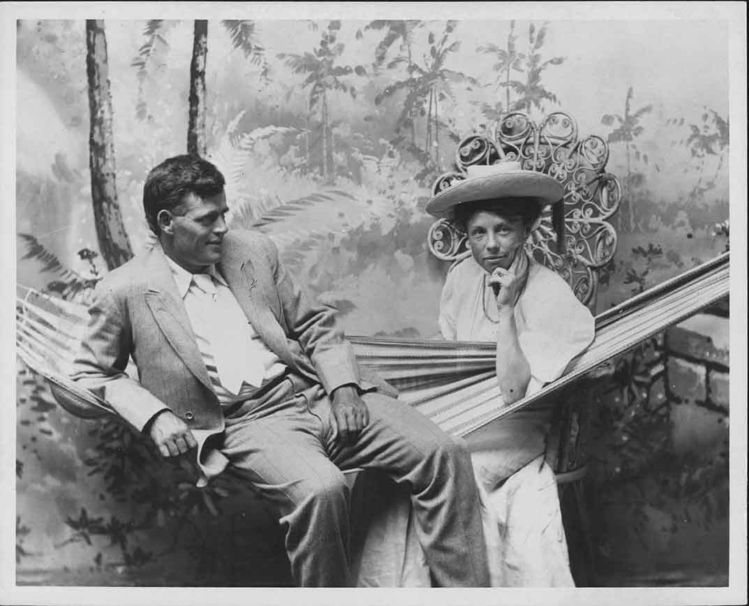 Jack London and his second wife Charmian