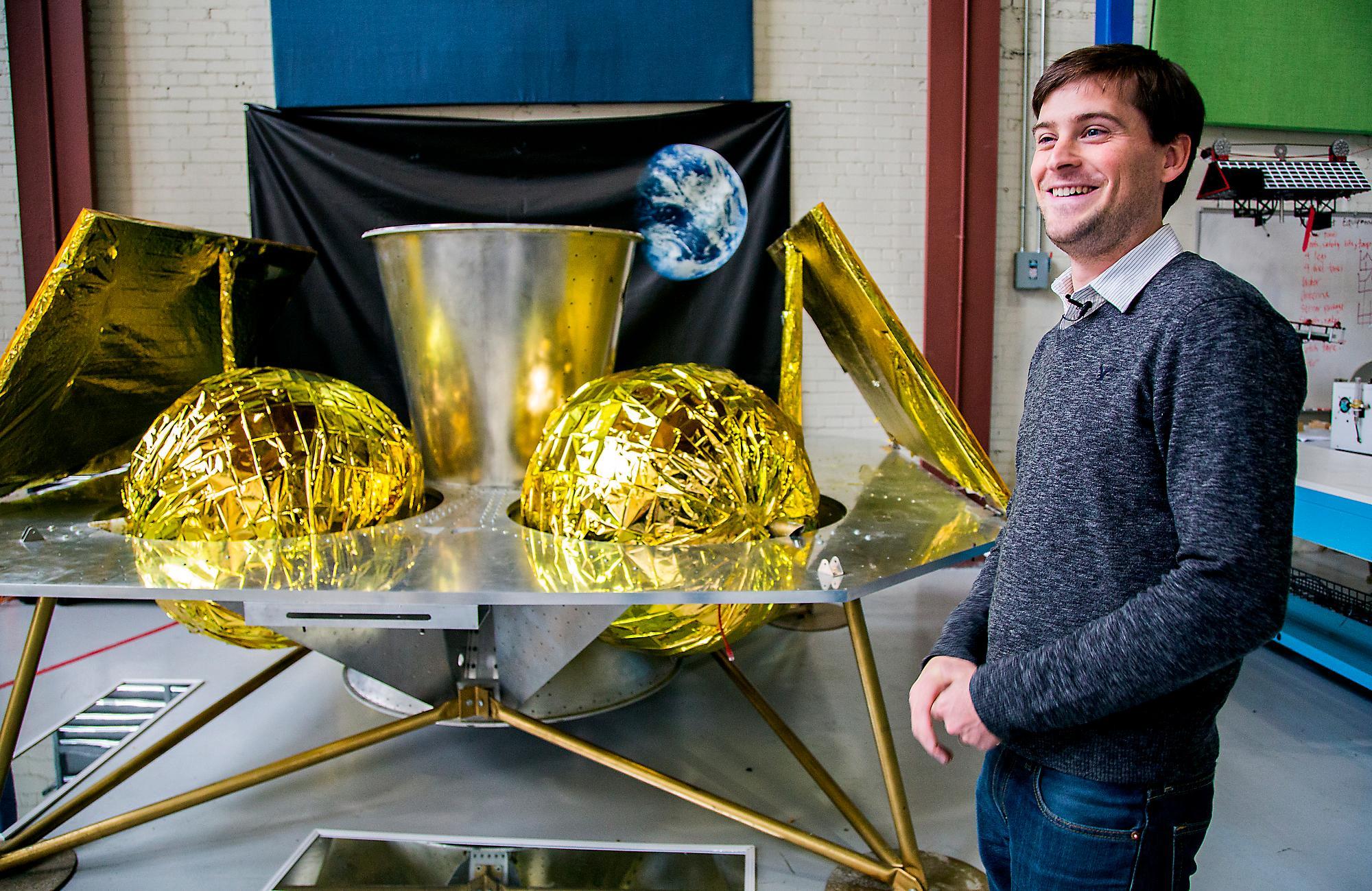 Astrobotic CEO John Thornton