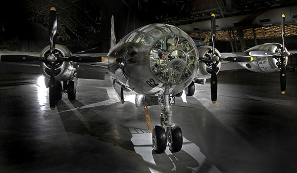 The B-29 Superfortress Enola Gay was one of a few dozen World War II-era aircraft specially modified for the express purpose of delivering atomic weapons.