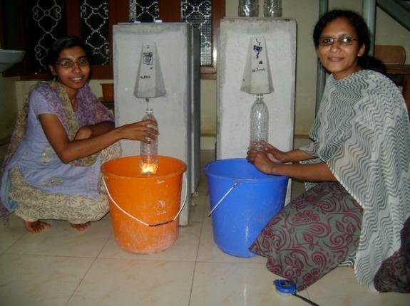 Two women in Kerala, India