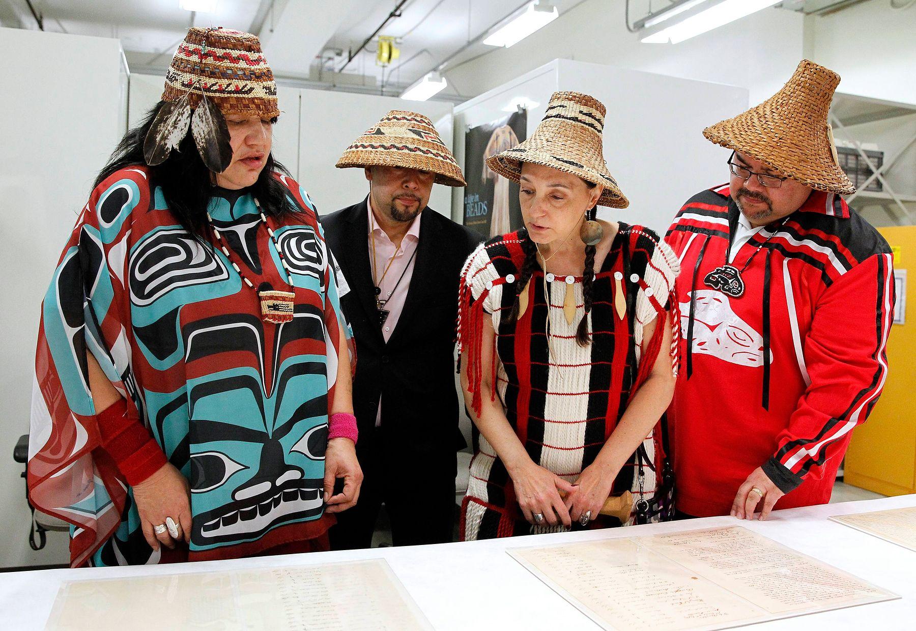 Nisqually tribal members