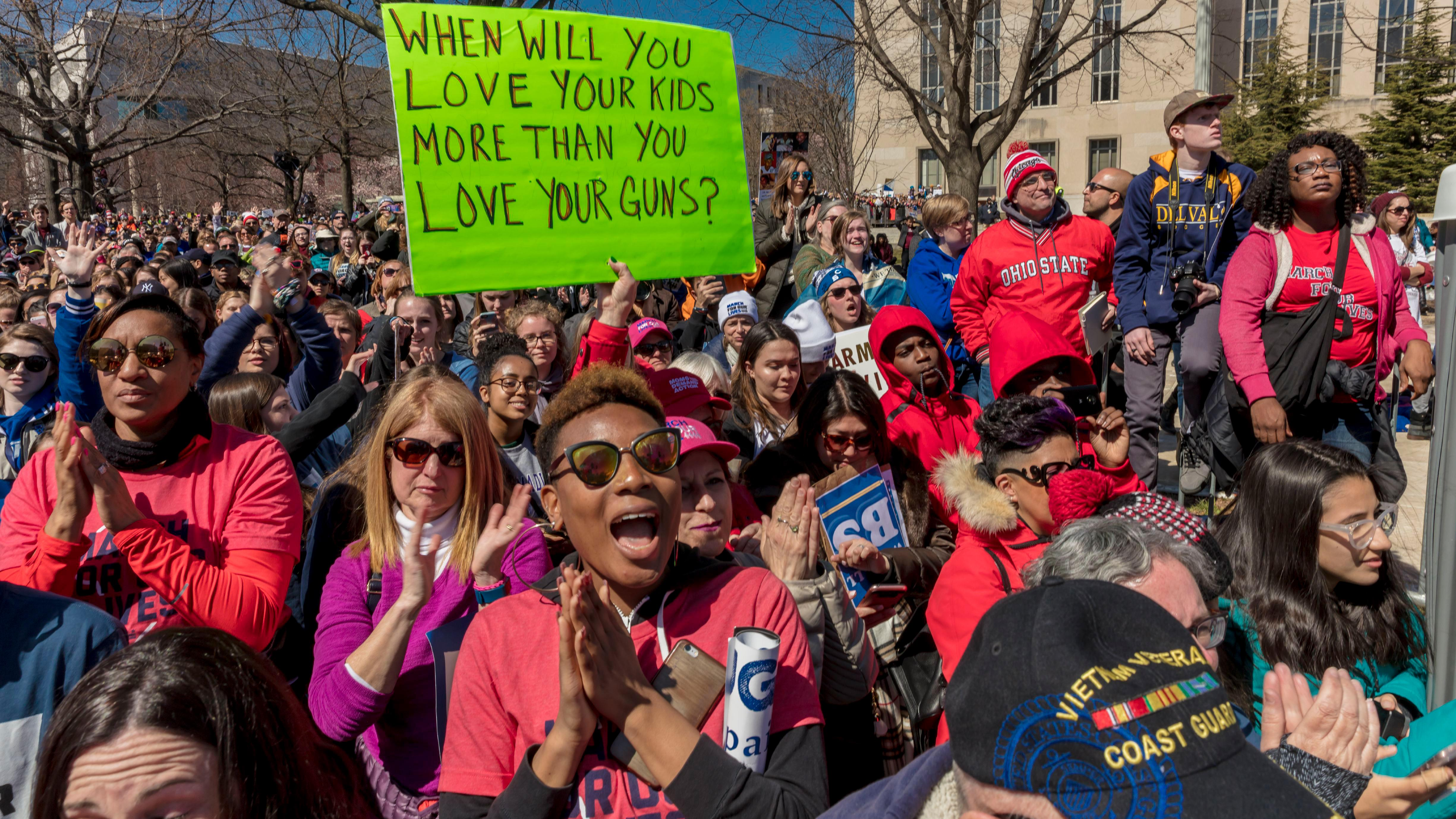 March for Our Lives DC rally