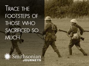 Trace the footsteps of those who sacrificed so much